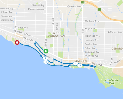 West vancouver run